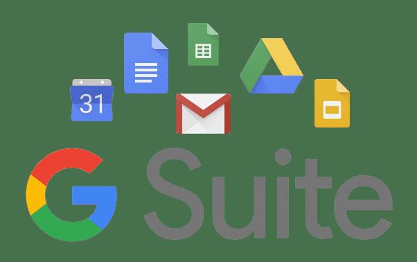 ferramentas e aplicativos g suite