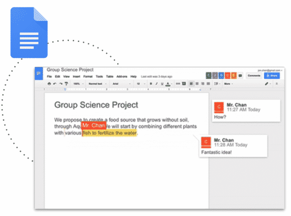 Google Documentos