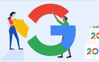 Google comemora vinte anos